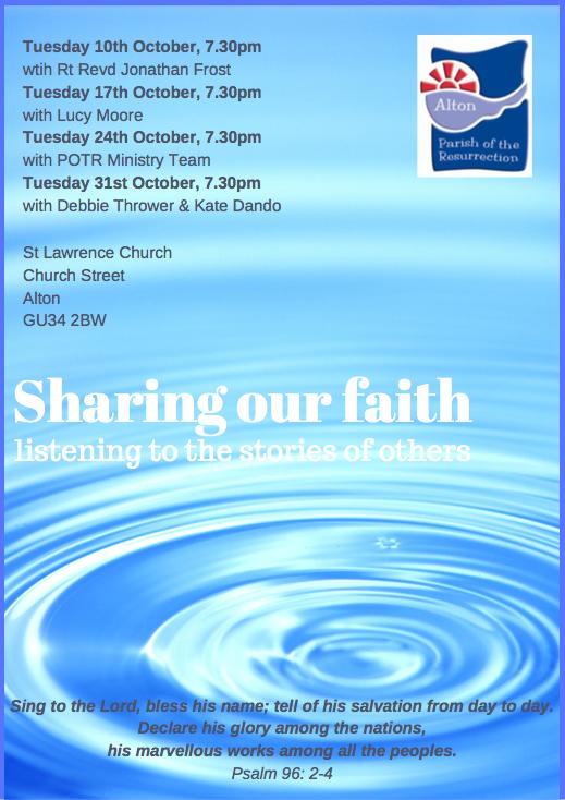 Sharing our Faith 1